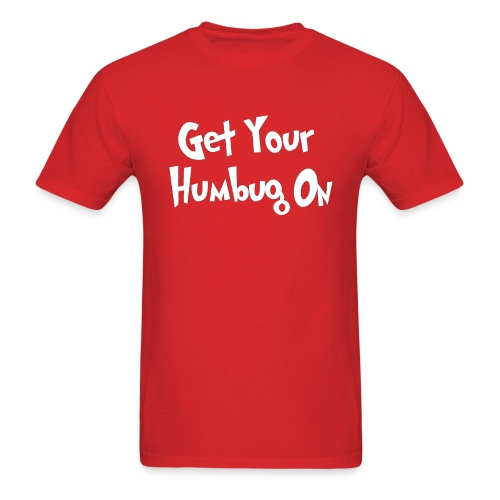 humbug2 with white border - Men's T-Shirt