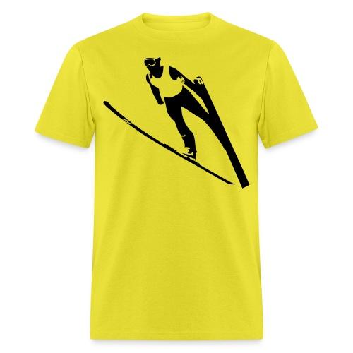 Ski Jumper - Men's T-Shirt