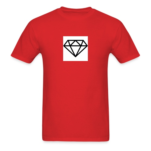 diamond outline 318 36534 - Men's T-Shirt