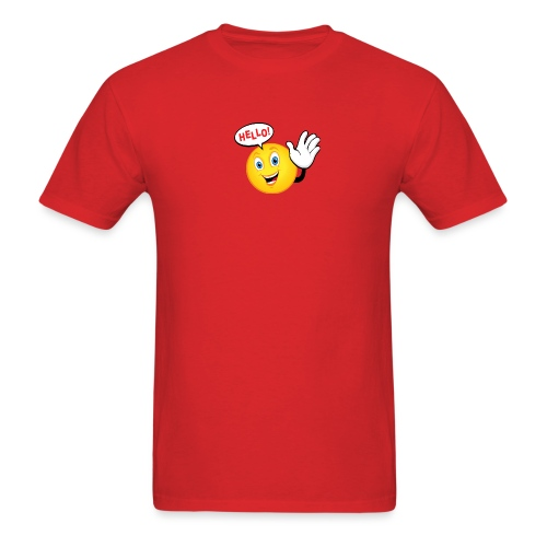 say hello png - Men's T-Shirt