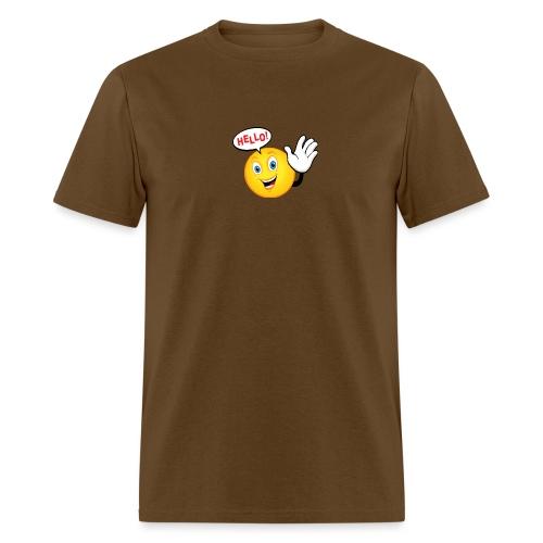 say hello png - Men's T-Shirt