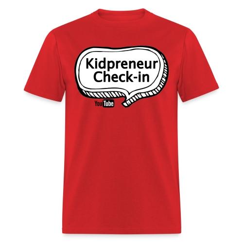 Kidpreneur Check-In Logo - Men's T-Shirt