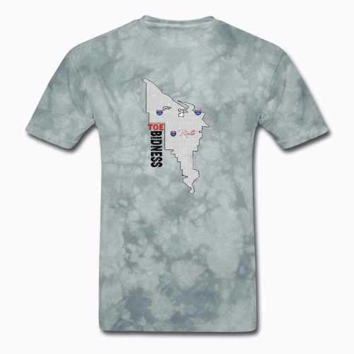 Toe Bidness - Men's T-Shirt