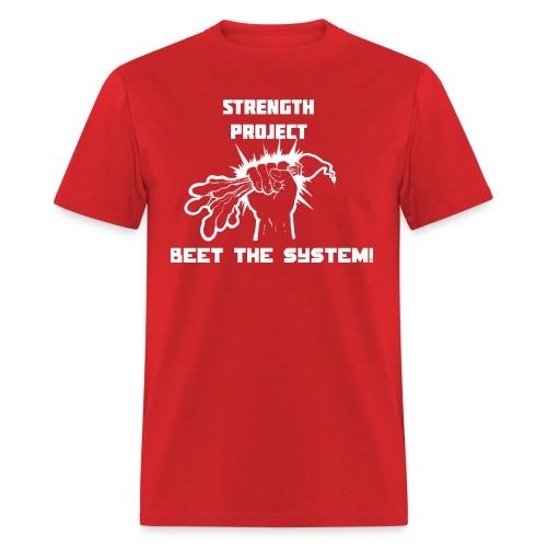 beet the system - Men's T-Shirt
