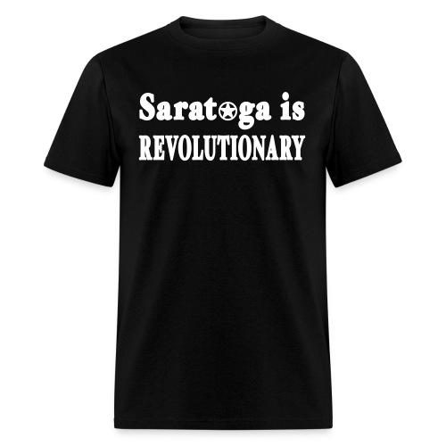 New York Old School Saratoga is Revolutionary Shir - Men's T-Shirt