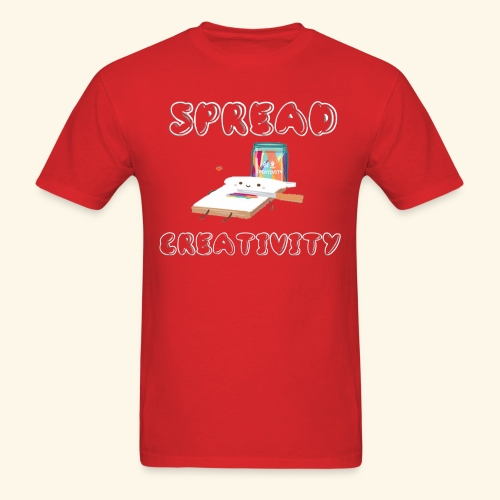 Spreading Creativity - Men's T-Shirt