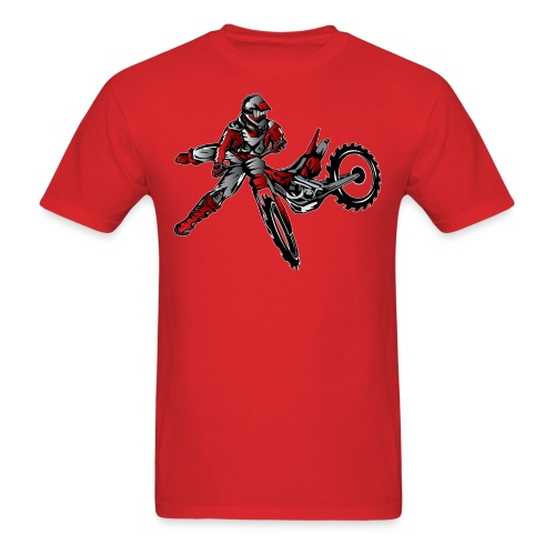 Freestyle Dirt Biker - Men's T-Shirt