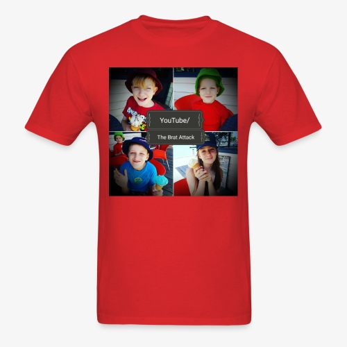 the brat attack 5 - Men's T-Shirt