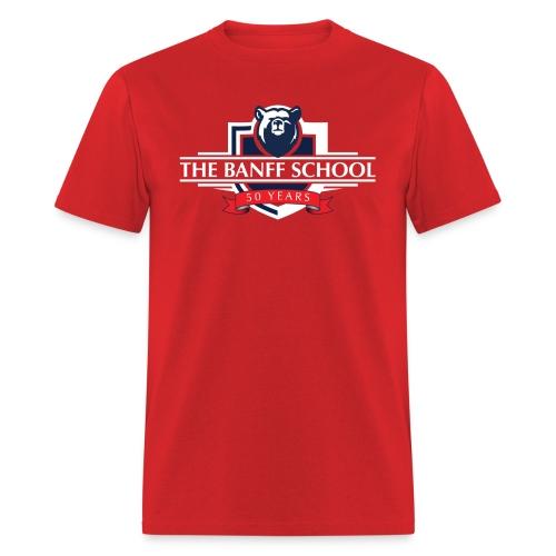 50th Anniversary Crest - Red - Men's T-Shirt