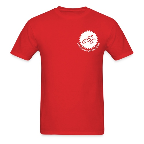 Saskatoon Cycling Club White - Men's T-Shirt