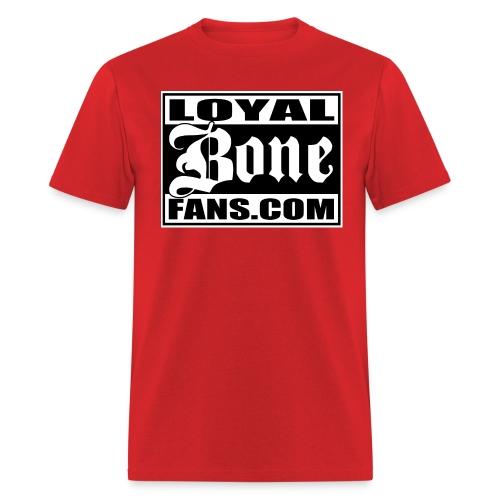 Loyal Bone Fans (Logo 2) - Men's T-Shirt