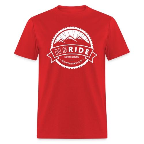NSRIDE Logo Dark 1 Colour - Men's T-Shirt