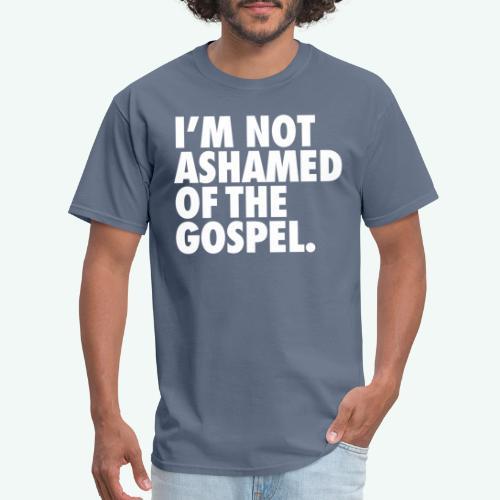 I´M NOT ASHAMED OF THE GOSPEL - Men's T-Shirt