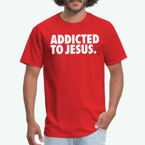 ADDICTED TO JESUS - Men's T-Shirt