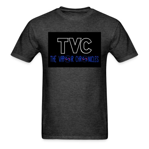 TVC coil logo blue JPG - Men's T-Shirt