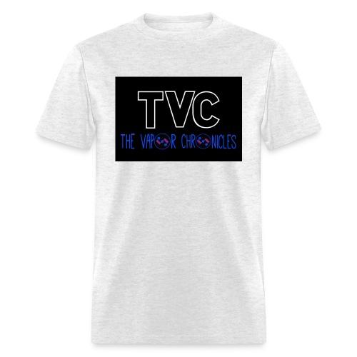 TVC coil logo blue JPG - Men's T-Shirt