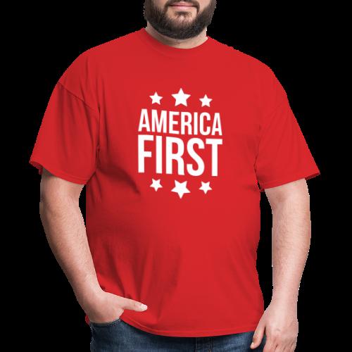 America First - Men's T-Shirt