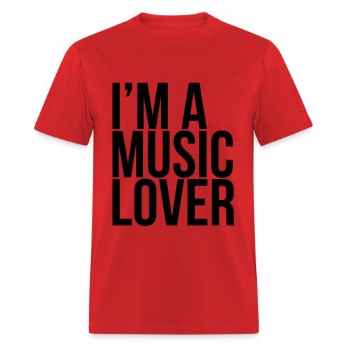 Music Lover big - Men's T-Shirt