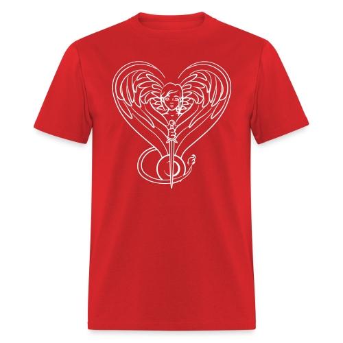 Sphinx valentine white - Men's T-Shirt