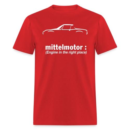Mittelmotor Sportwagen - Men's T-Shirt