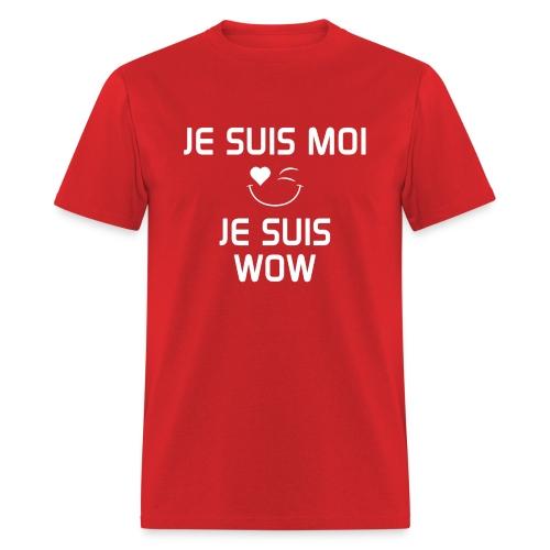 JeSuisMoiJeSuisWow - Men's T-Shirt