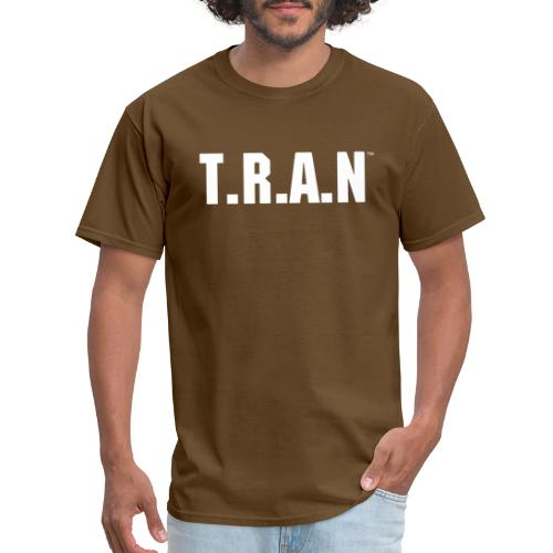 TRAN white png - Men's T-Shirt
