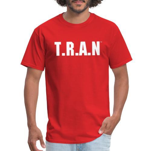 TRAN white png - Men's T-Shirt