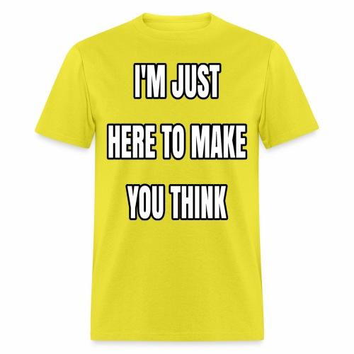 IJHTMYT (White Font) - Men's T-Shirt