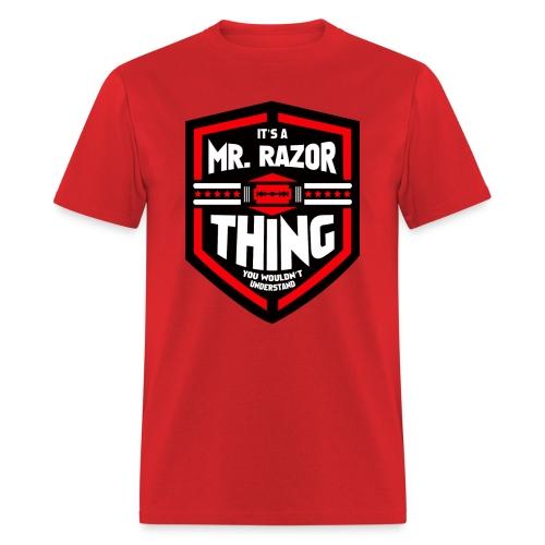 It's a Mr Razor Thing Trini - Men's T-Shirt