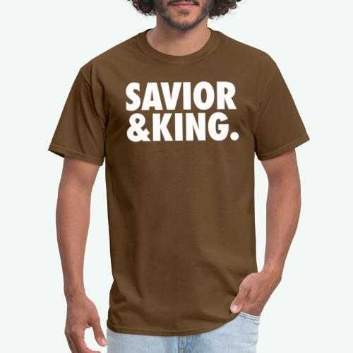 SAVIOR AND KING - Men's T-Shirt