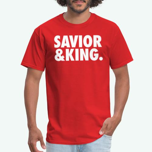 SAVIOR AND KING - Men's T-Shirt