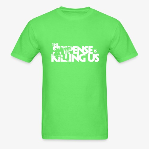 Suspense Is Killing Us White Logo - Men's T-Shirt