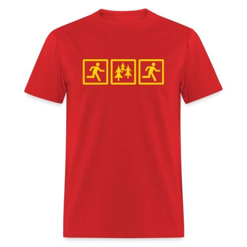 RUN FOREST RUN - Men's T-Shirt