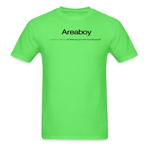 areaboy - Men's T-Shirt