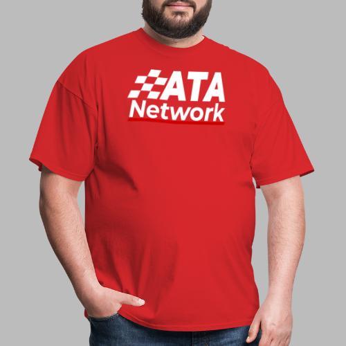 ATA Network Light Logo Vertical - Men's T-Shirt