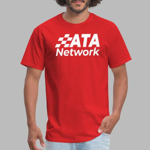 ATA Network Stacked Logo - Men's T-Shirt