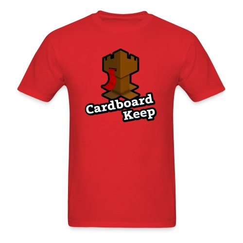 Cardboard Keep Logo - Men's T-Shirt