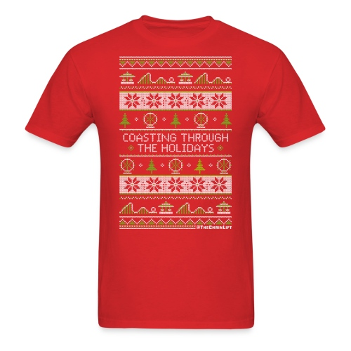 Coasting Through The Holidays - Men's T-Shirt