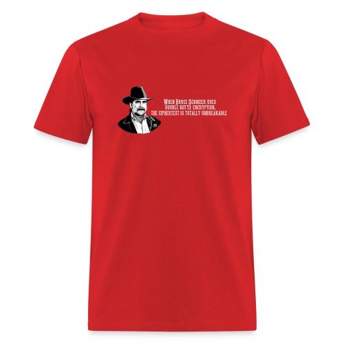 Bruce Schneier Fact #15 - Men's T-Shirt