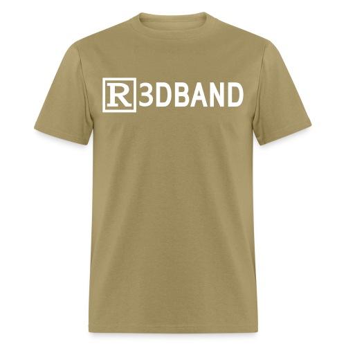 r3dbandtextrd - Men's T-Shirt