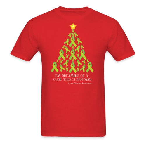 Lyme Free Christmas - Men's T-Shirt