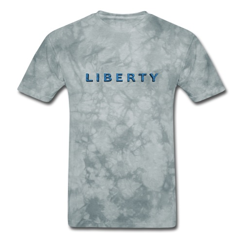 Liberty Libertarian Design - Men's T-Shirt