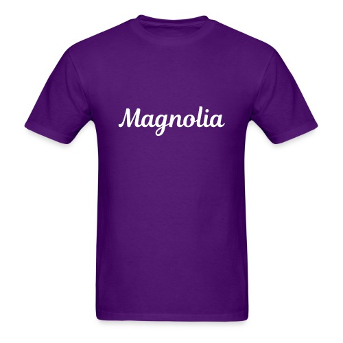 Magnolia Abstract Design. - Men's T-Shirt