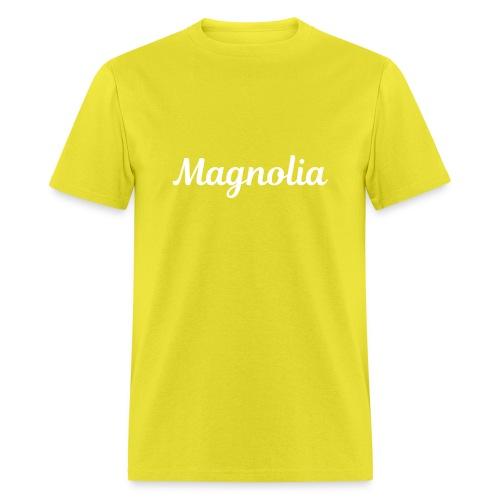 Magnolia Abstract Design. - Men's T-Shirt