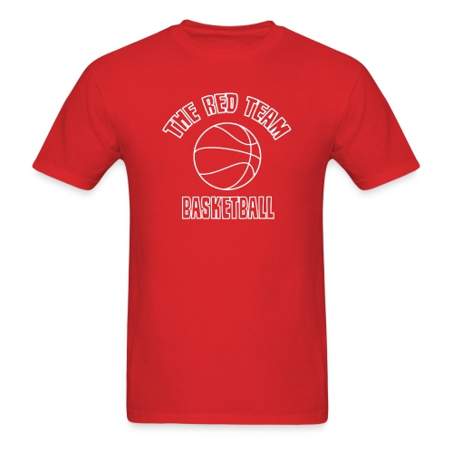 The Red Team Basketball - Men's T-Shirt