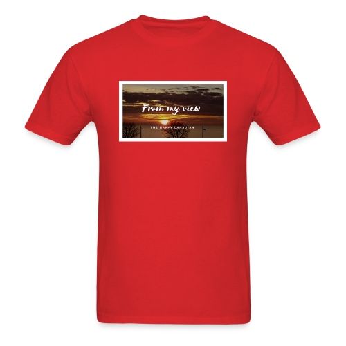 THE HAPPY CANADIAN - Men's T-Shirt