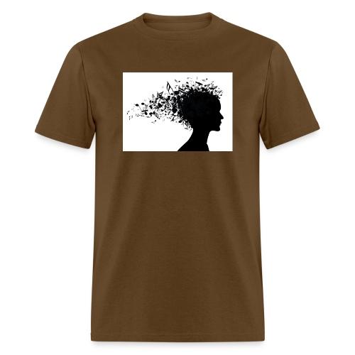 music through my head - Men's T-Shirt