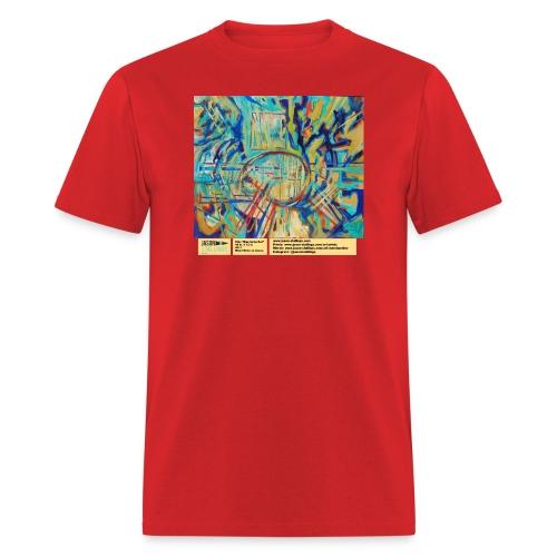 blue guitar riot - Men's T-Shirt