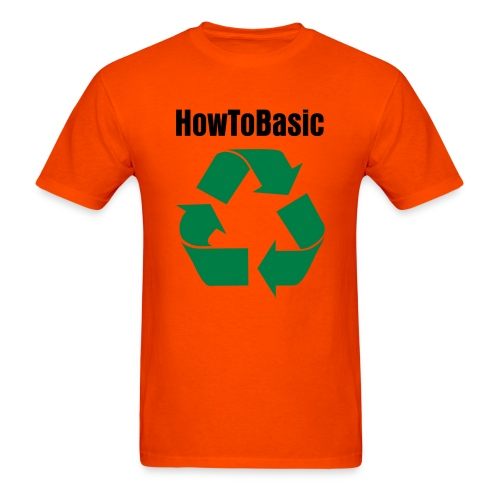 how to recycle - Men's T-Shirt