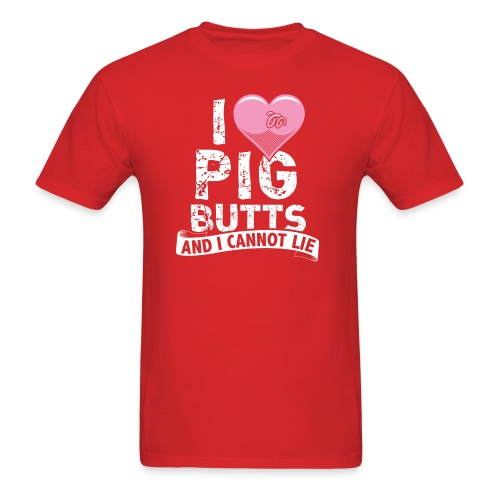 pigbutts4000px - Men's T-Shirt